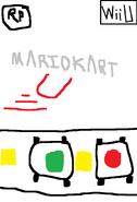 Mario Kart U USA Beta Boxart