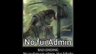 No fui admin-0