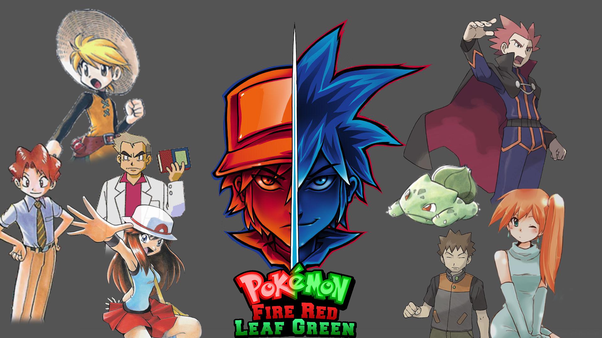 Pokémon Rojo Verde La Wikia De Pokéfanon Fandom Powered By Wikia