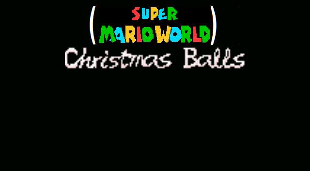 Super Mario World Christmas.Super Mario World Christmas Balls Falkuz Wiki Fandom
