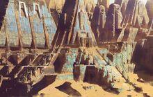 Desert ruins by paooo-db0xe03