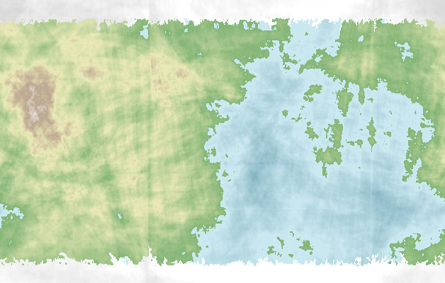 Fictional world map