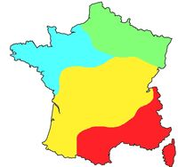 Climate Map France