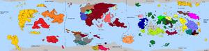 HDFRF - World Map