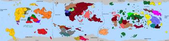 HDFRF - World Map 548AER