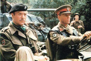 Michael Caine and Edward Fox a Bridge Too Far
