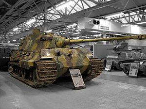 File:Bovington Tiger II grey bg.jpg