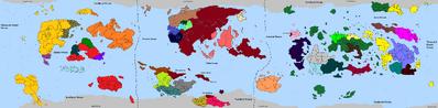 HDFRF - World Map 560aer