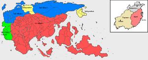Map (HDFRF)(i) Alliances