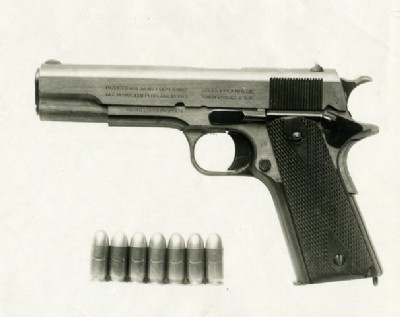 File:The John M Browning designed 1911 pistol was adopted by the US Army March 29 1911 (1).jpg