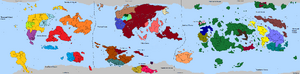 The World in 500AER