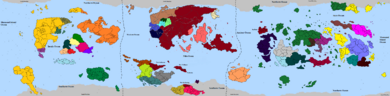 HDFRF - World Map 583AER