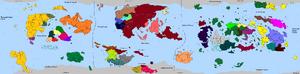 HDFRF - World Map 582AER
