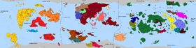 The World in 507AER(after golden war)