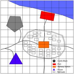 Yukigakure map