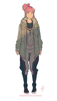 Katsumi outfit