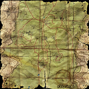 Map Terminal Woods