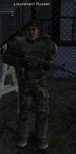 Lieutenant Russet