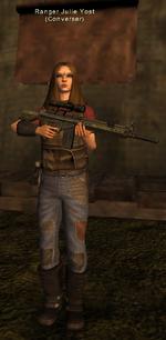 Ranger Julie Yost