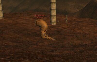 Duneworm sighting