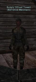 Supply Officer Yowell