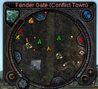 Compass Conflict Town