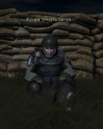 NPC Private Timothy Carroll