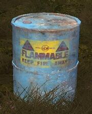 Tech Resource Barrel Blue