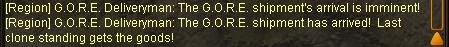 GORE crate info