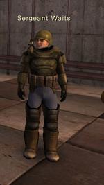 Sergeant Waits