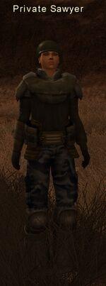 Private Sawyer