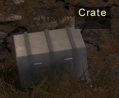 Ranger station crate