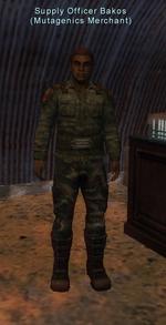 Supply Officer Bakos