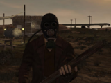 Trooper's Gas Mask