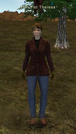 Archivist Theresa