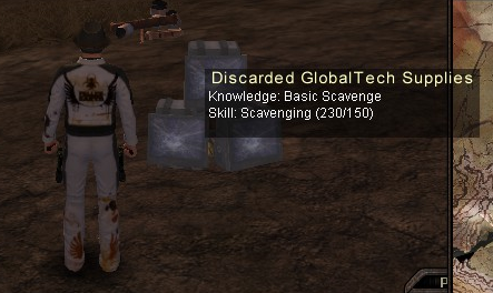 Discarded GlobalTech Supplies