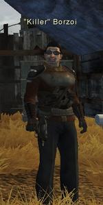 Killer Borzoi