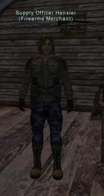 Supply Officer Hensler