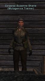 Corporal Suzanne Shane