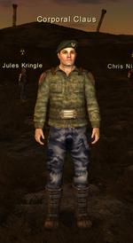Corporal Claus O