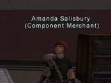 Component: Amanda Salisbury