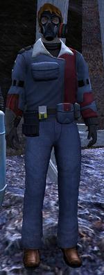 Hazmat crew leader
