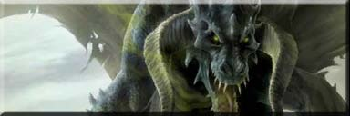 Abashi the black dragon