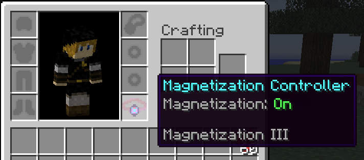 Magnetization Controller Equipped
