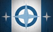 Lake Militia Flag