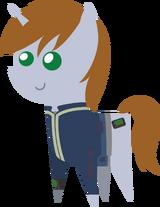 329054 safe oc fallout equestria pointy ponies littlepip artist-colon-darkarcher98-1-