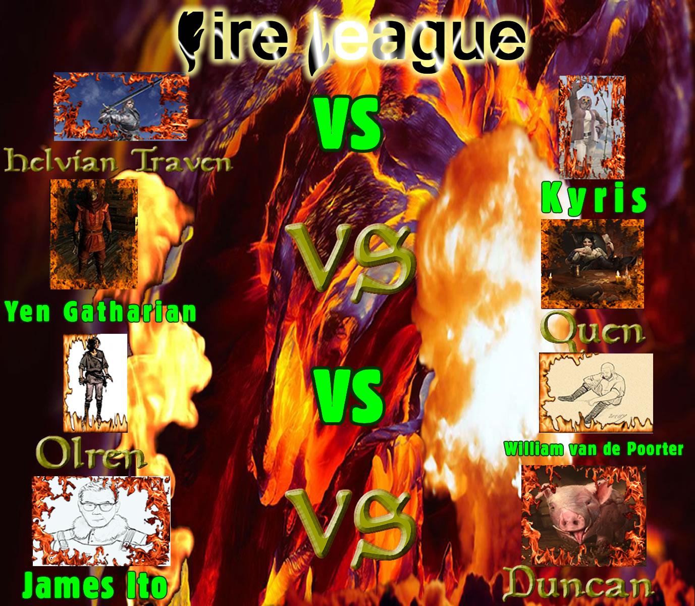 Gay 2019 fire league 1