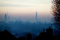 London Foggy Skyline