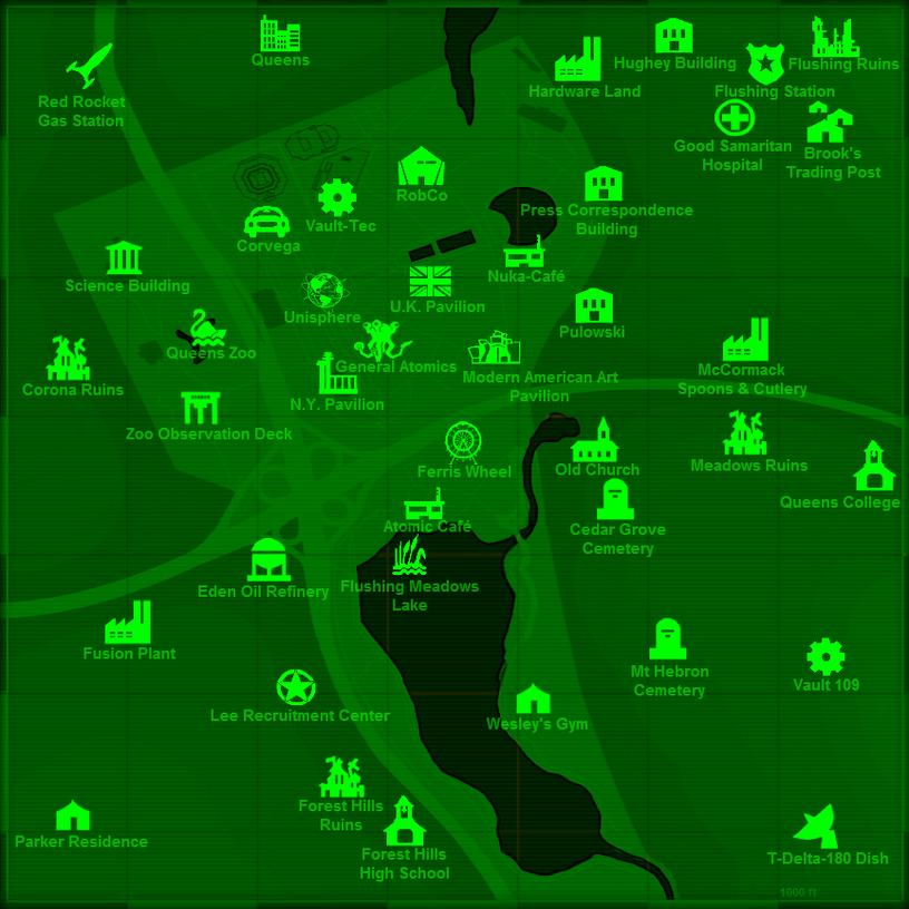 Map NY World's Fair 1.0