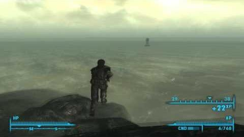 Fallout 3 SECRET POINT LOOKOUT DINOSAUR REMAINS